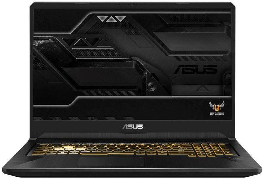 "Ноутбук 17.3"" Asus TUF Gaming FX705GE-EW240T темно-серый (90NR00Z1-M05540) - фото 1"
