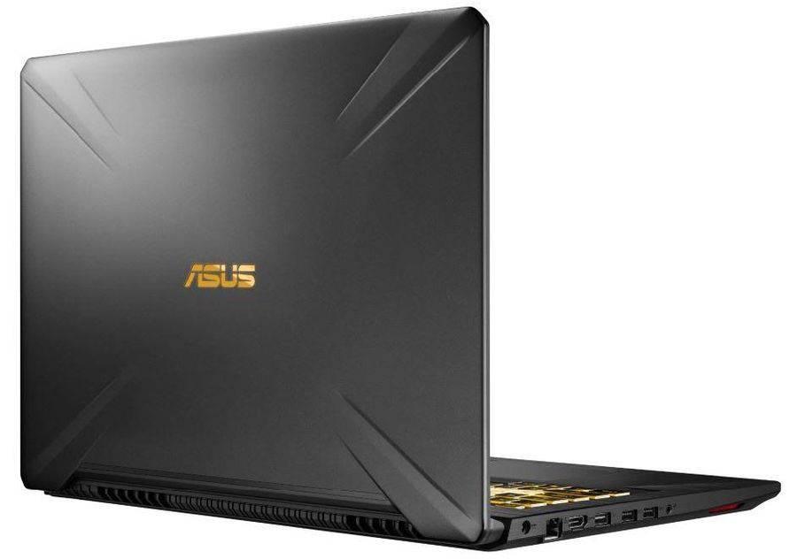 "Ноутбук 17.3"" Asus TUF Gaming FX705GE-EW240T темно-серый (90NR00Z1-M05540) - фото 4"