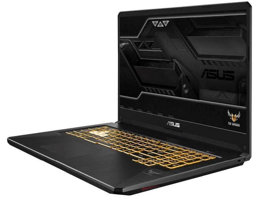 "Ноутбук 17.3"" Asus TUF Gaming FX705GM-EV203T темно-серый (90NR0121-M04320) - фото 2"