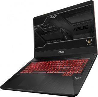 "Ноутбук 17.3"" Asus TUF Gaming FX705GM-EW144T черный (90NR0122-M05140) - фото 2"