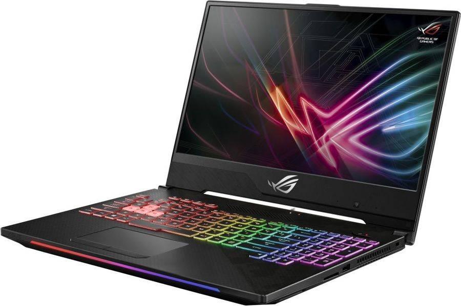 """Ноутбук 15.6"""" Asus ROG GL504GV-ES105T черный (90NR01X1-M01870) - фото 3"""