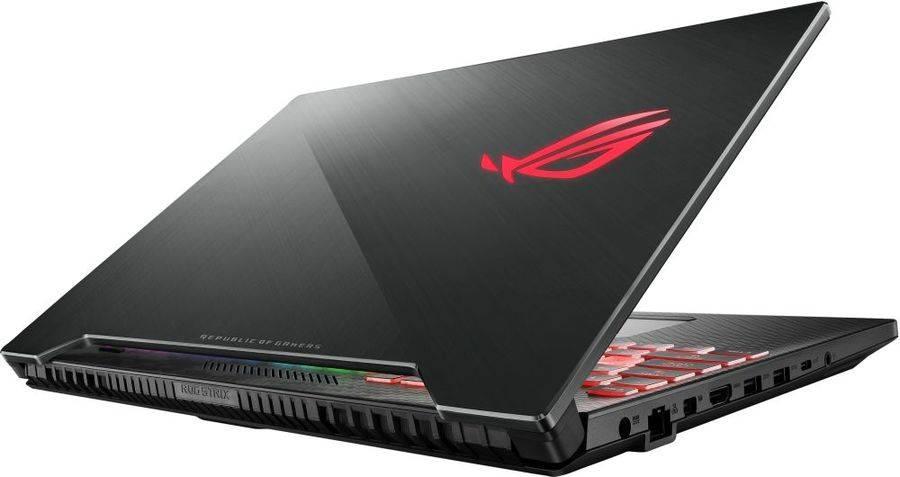 """Ноутбук 15.6"""" Asus ROG GL504GV-ES105T черный (90NR01X1-M01870) - фото 4"""