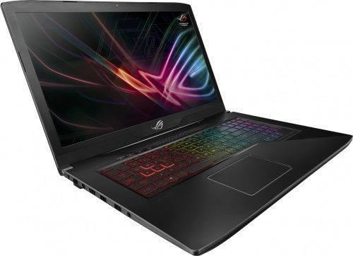 """Ноутбук 17.3"""" Asus ROG GL703GE-GC075T черный (90NR00D2-M04500) - фото 3"""