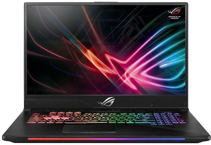 "Ноутбук 17.3"" Asus ROG GL704GM-EV069T черный (90NR00N1-M01360) - фото 1"