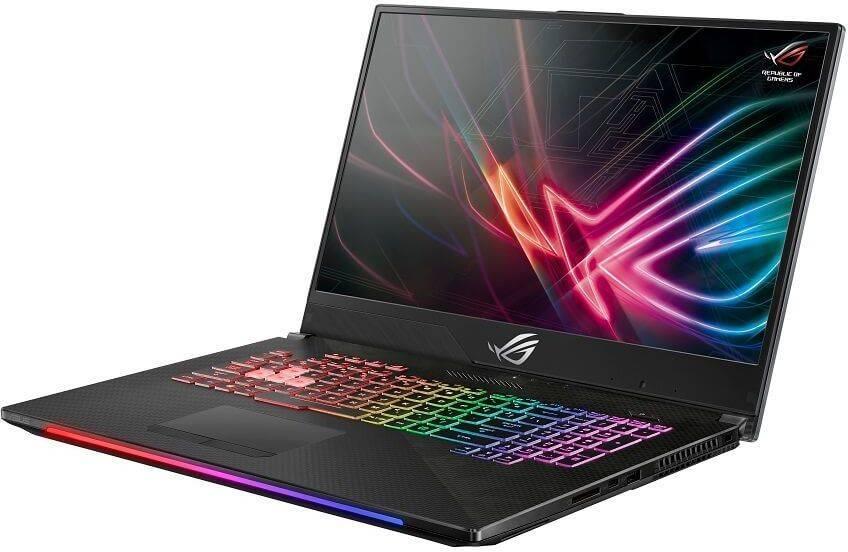 "Ноутбук 17.3"" Asus ROG GL704GM-EV068T черный (90NR00N1-M01350) - фото 2"