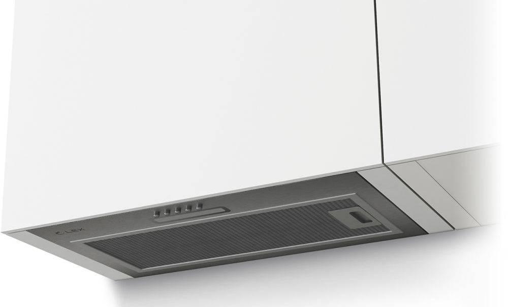 Встраиваемая вытяжка Lex GS Bloc LIGHT 600 INOX нержавеющая сталь (CHTI000328) - фото 1