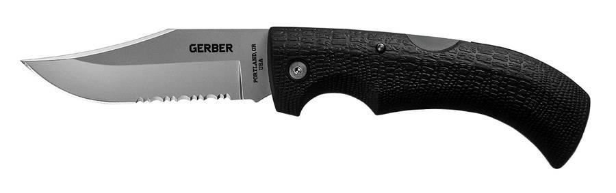 Нож Gerber Gator черный (1014900/1027825) - фото 1