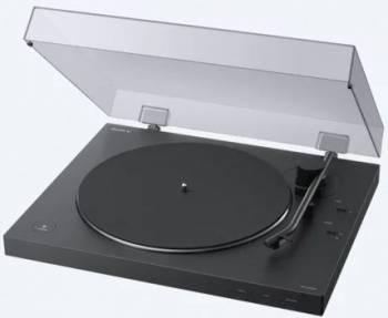 Виниловый проигрыватель Sony PS-LX310BT черный (pslx310bt.ru3)