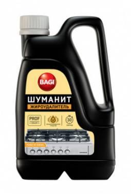 Моющее средство Bagi Шуманит 3000мл для удаления стойких/пригоревших жиров жидкость