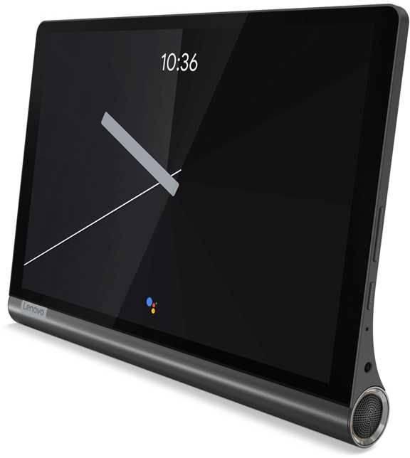 """Планшет 10.1"""" Lenovo Yoga Smart Tab YT-X705F 64ГБ темно-серый (ZA3V0013RU) - фото 1"""