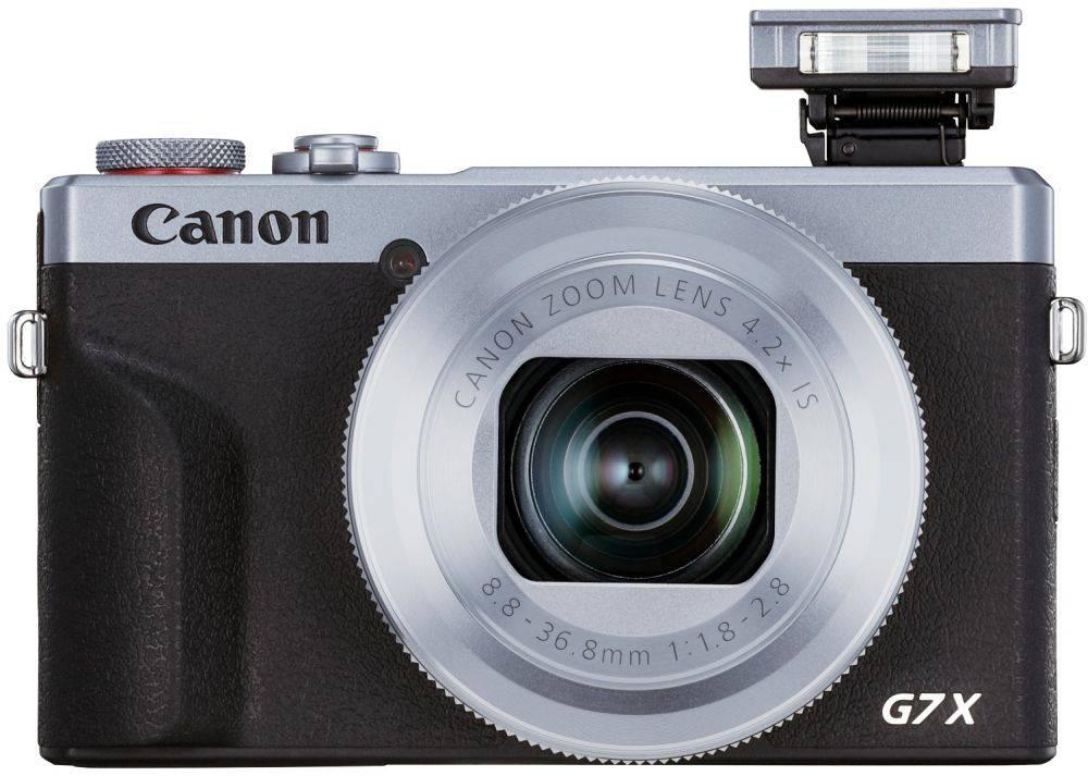 Фотоаппарат Canon PowerShot G7 X MARKIII серебристый/черный (3638C002) - фото 1