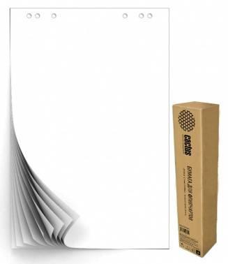 Блок бумаги Cactus CS-PFC20W-5 для флипчартов 67.5х98см 20л (упак.:5шт)