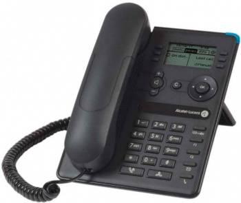 Системный телефон цифровой IP Alcatel-Lucent 8008 черный