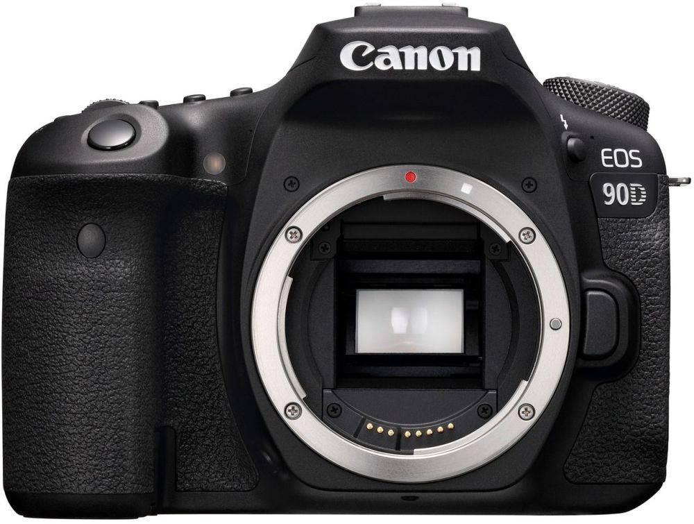 Фотоаппарат Canon EOS 90D черный, Body (3616C003) - фото 1