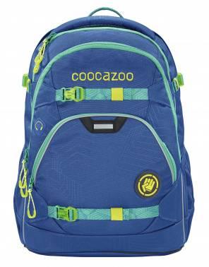 Рюкзак Coocazoo ScaleRale Waveman синий/бирюзовый (00183929)