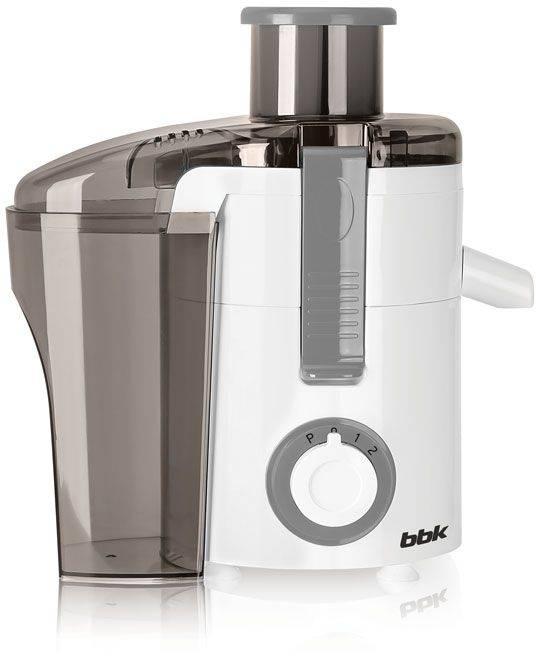 Соковыжималка центробежная BBK JC060-H11 белый/серый - фото 1