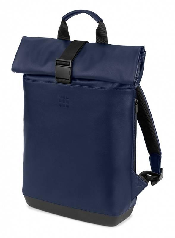 Рюкзак Moleskine Rolltop синий сапфир (ET86RBKB20) - фото 1