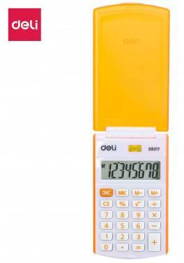 Калькулятор карманный Deli E39217/OR оранжевый