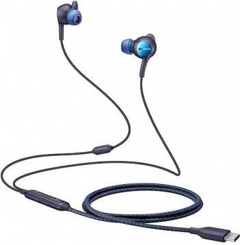 Гарнитура Samsung EO-IC500 черный/синий (eo-ic500bbegru)