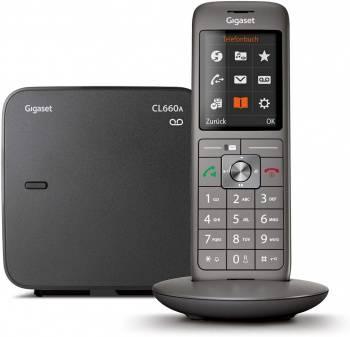 Телефон Gigaset CL660A SYS RUS черный (S30852-H2824-S321)