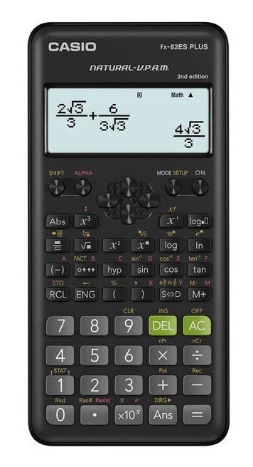 Калькулятор научный Casio FX-82ESPLUS-2-SETD черный - фото 1