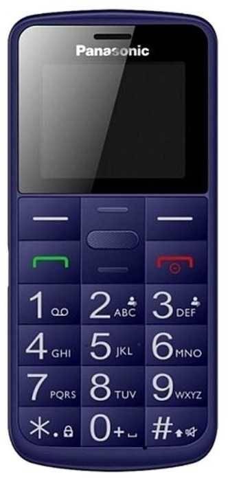 Мобильный телефон Panasonic TU110 синий (KX-TU110RUC) - фото 1