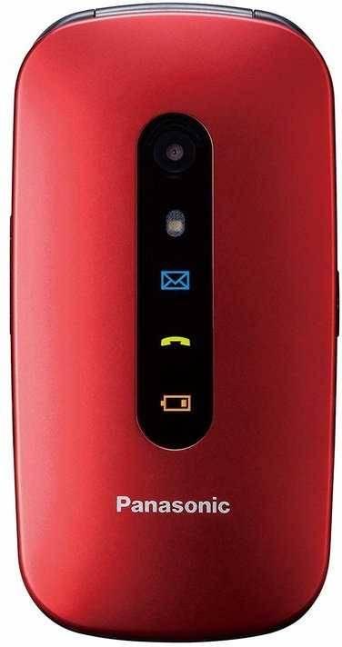 Мобильный телефон Panasonic TU456 красный (KX-TU456RUR) - фото 1