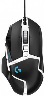 Мышь Logitech G502 SE HERO черный/белый (910-005729)