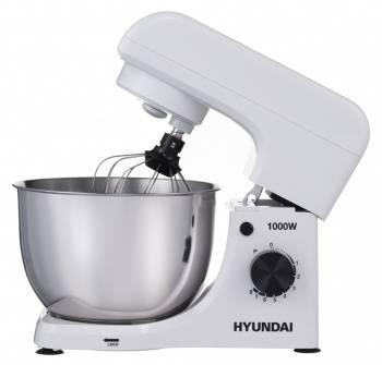 Миксер планетарный Hyundai HYM-S4451 белый/черный
