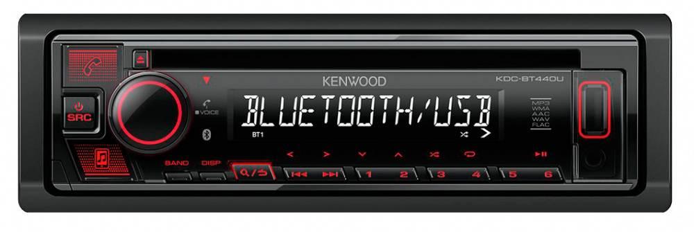 Автомагнитола Kenwood KDC-BT440U - фото 1