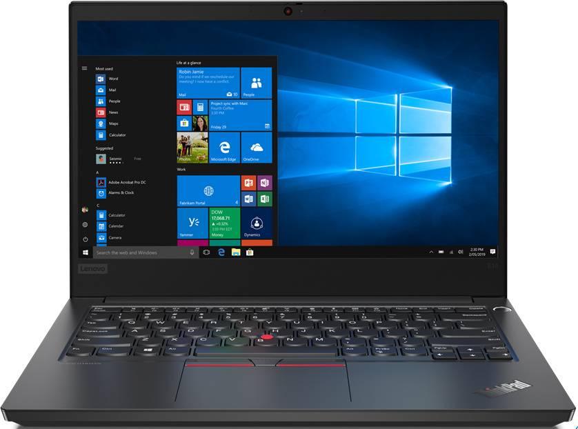 "Ноутбук 14"" Lenovo ThinkPad E14-IML T черный (20RA001BRT) - фото 1"