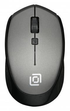 Мышь Оклик 488MW серый/черный (sr-1807 grey)