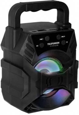 Колонка портативная Telefunken TF-PS1227B черный (tf-ps1227b(черный))
