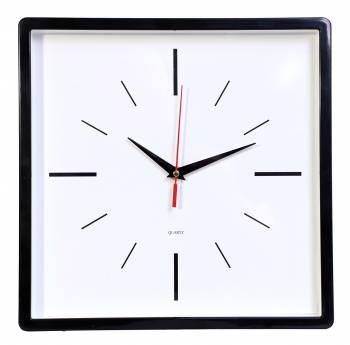 Настенные часы Бюрократ WallC-S61P черный (wallc-s61p30/black)