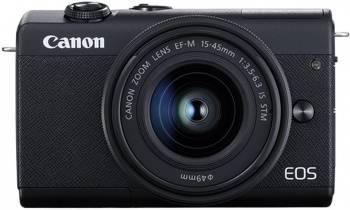 Фотоаппарат Canon EOS M200 kit черный (3699C010)