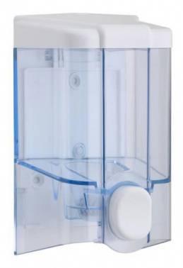 Дозатор Vialli S2T голубой/белый