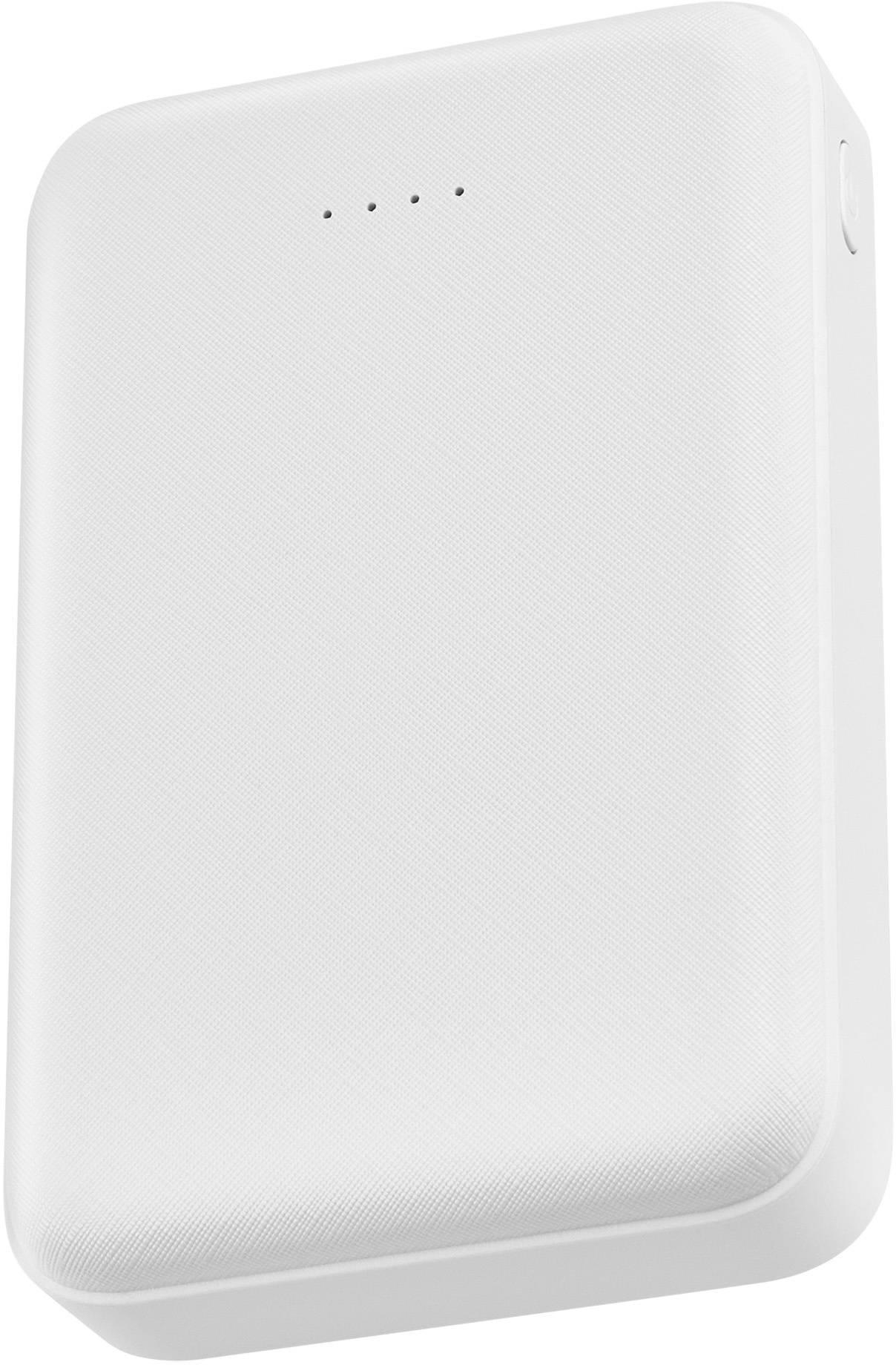 Мобильный аккумулятор BURO T4-10000 белый (T4-10000-WT) - фото 1