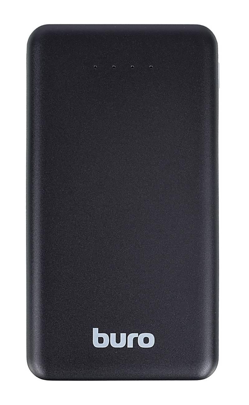 Мобильный аккумулятор BURO RLP-8000 черный (RLP-8000-B) - фото 1