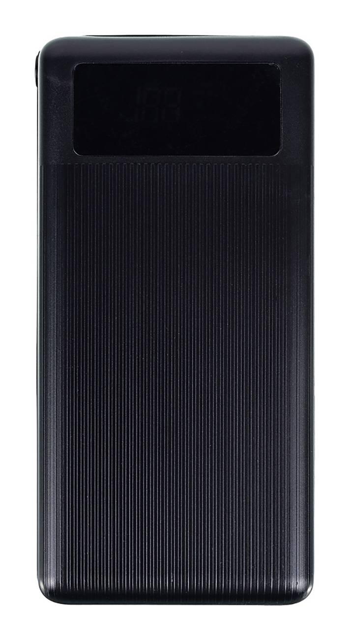 Мобильный аккумулятор BURO RLP-30000-B черный - фото 1