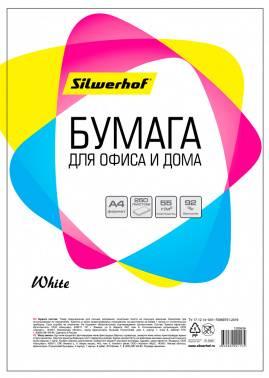 Бумага Silwerhof 716002 A4 55г/м2 250л. (плохая упаковка)