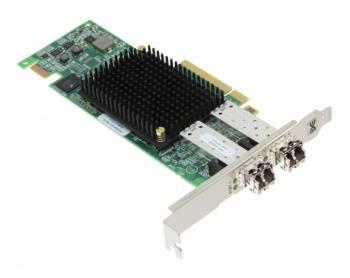 Контроллер LSI Emulex LPe16002B-M6 HBA PCIe 16 Gb 2-port Fibre Channel Adapter by (lpe16002b-m6)