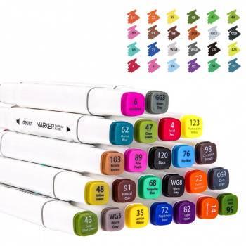 Набор маркеров для скетчинга Deli 70801-24 24цв.