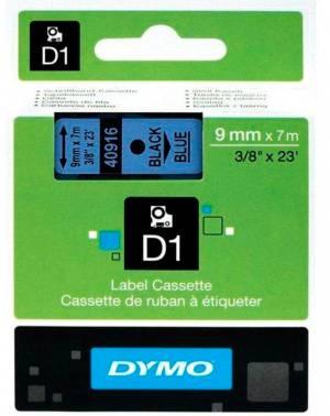 Картридж Dymo D1 черный/голубой (s0720710)