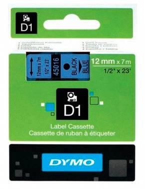 Картридж Dymo D1 голубой/черный (s0720560)