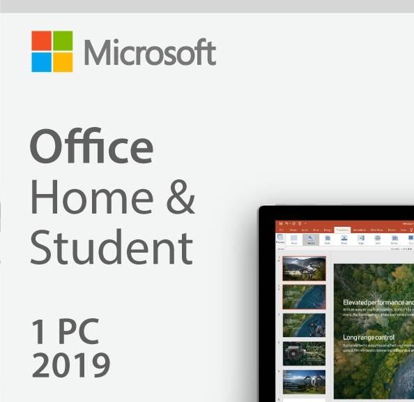 Офисное приложение Microsoft Office Home and Student 2019 Rus Only Medialess P6 (79G-05207) - фото 1