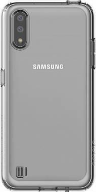 Чехол Samsung araree A cover, для Samsung Galaxy A01, прозрачный (GP-FPA015KDATR)