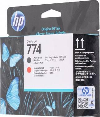 Картридж HP 774 черный/красный (p2v97a)