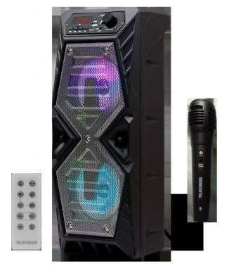 Колонка портативная Telefunken TF-PS1276B черный (tf-ps1276b(черный))
