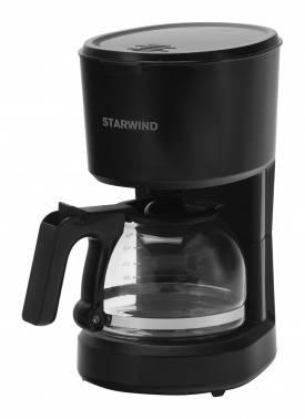 Кофеварка капельная Starwind STD0610 черный (плохая упаковка)