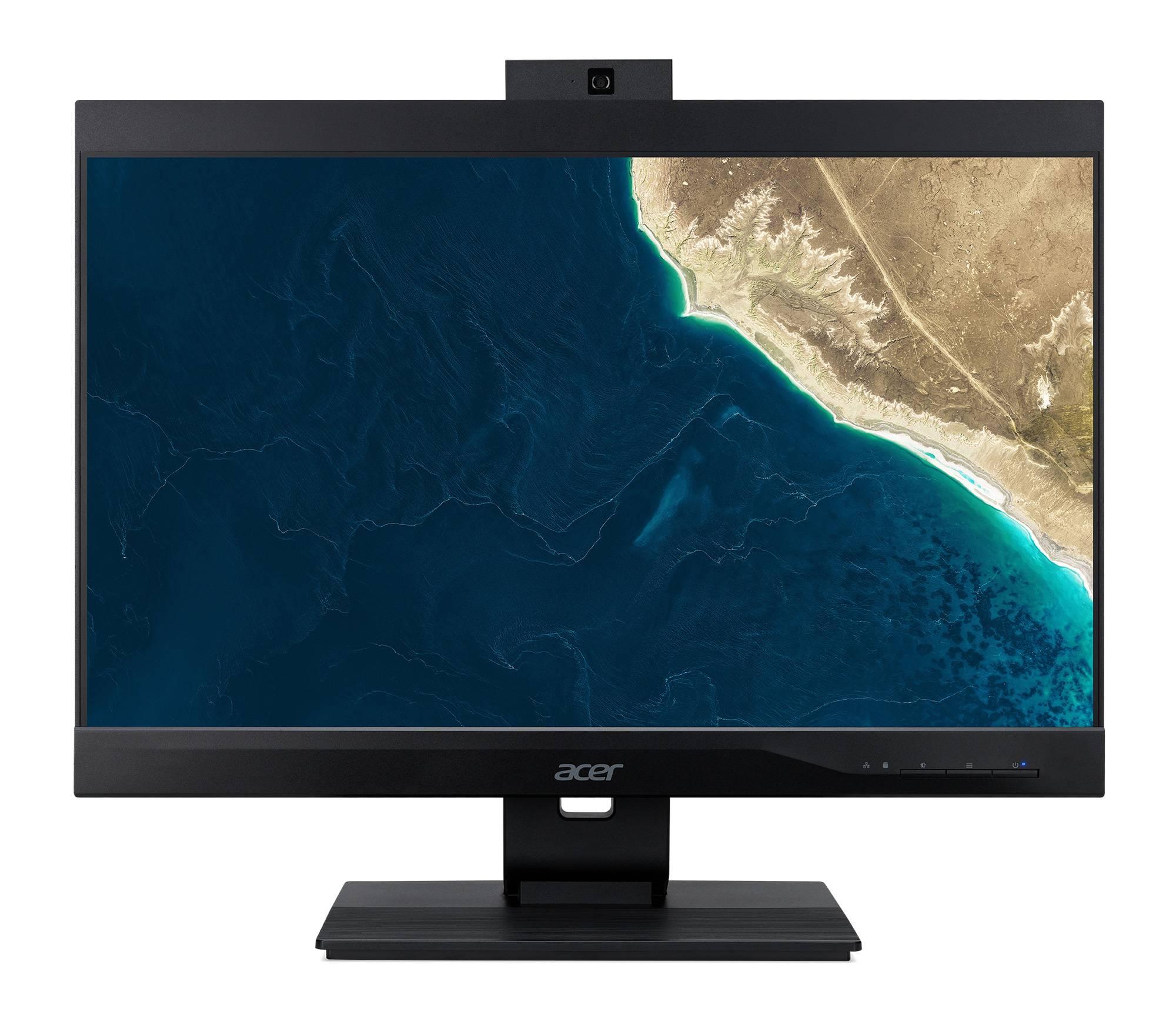 """Моноблок 23.8"""" Acer Veriton Z4860G черный (DQ.VRZER.155) - фото 1"""